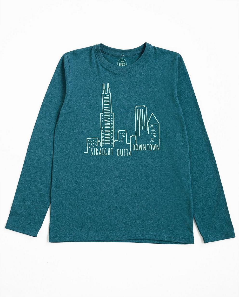 T-shirt à manches longues - bleu gris, BESTies - Besties